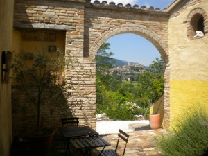group accommodation le marche italy