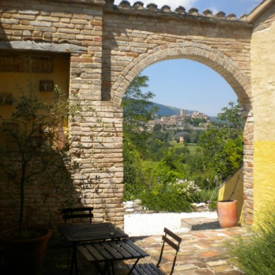 holiday accommodation le marche italy