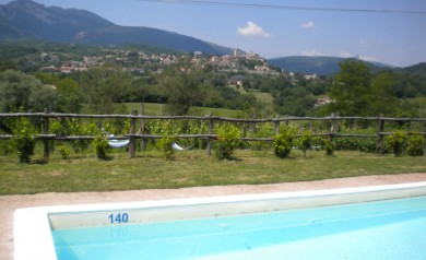le marche villa rental with pool & views italy