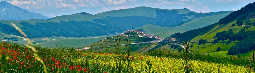 Sibillini National Park Umbria and Marche Italy