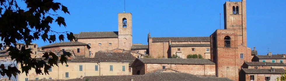 Sarnano Rooftops Le marche Italy