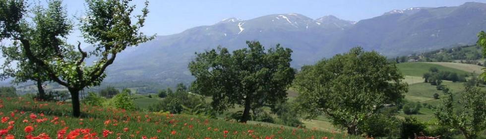 Monti sibillini parco nazionale italy