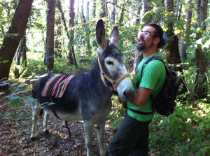 donkey trek Le Marche Italy