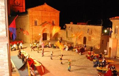 Sarnano banquet alfresco 2012