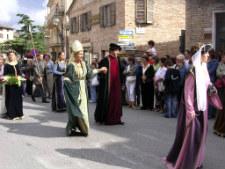 le marche festa sarnano italy