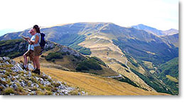 hiking in le marche sibillini
