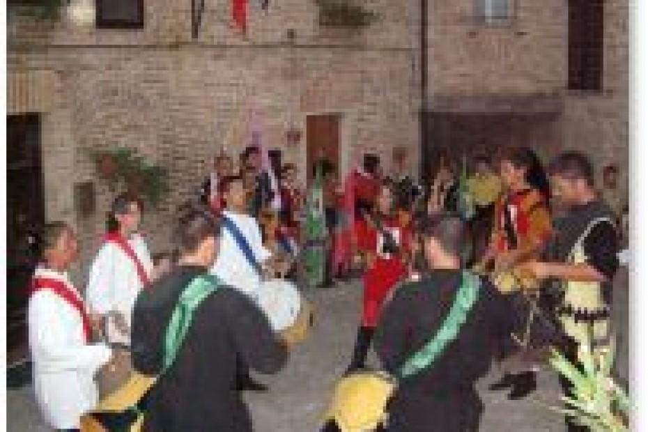 Sarnano marche region italy