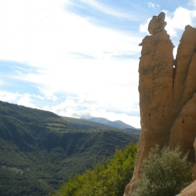 Walking holidays in Italy - Lame Rosse