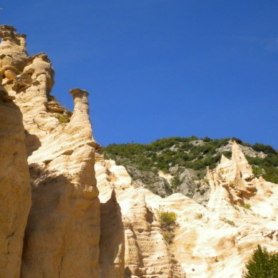 The impressive Lame Rosse near Lake Fiastra Le Marche