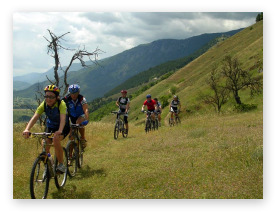 mountain bike tour of le marche