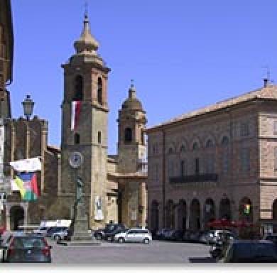 San Ginesio Marche italy