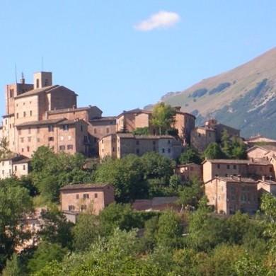 Sarnano le marche region italy