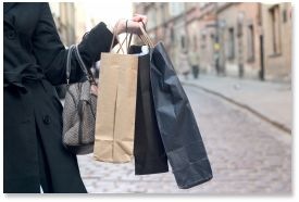 shopping outlet Le Marche