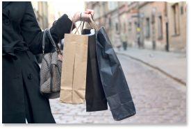 shopping outlet Le Marche