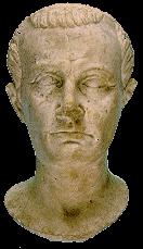 roman statue found at urbisaglia roman site italy
