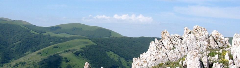monti sibillini marche italia