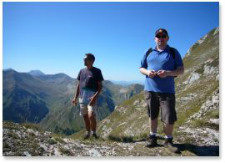 guided walking holidays italy marche