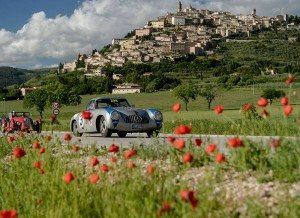 mille miglia vehicles in Marche Italy