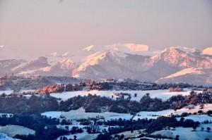 sibillini mountains winter