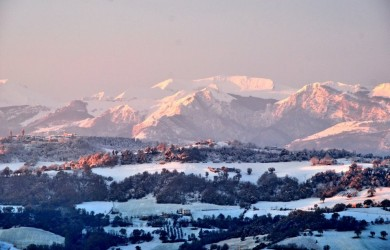 sibillini mountains winter