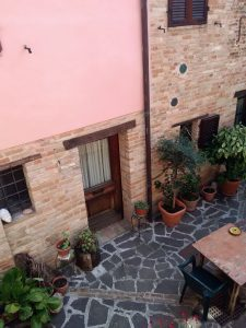 holiday apartment in Marche Italy